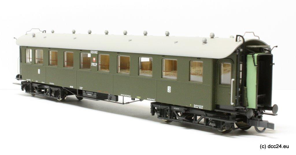 Wagon osobowy 3 kl Chxz (Parowozik Roco 45586 R/020082)